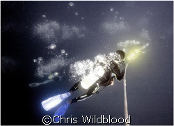 Going down the line... by Chris Wildblood 